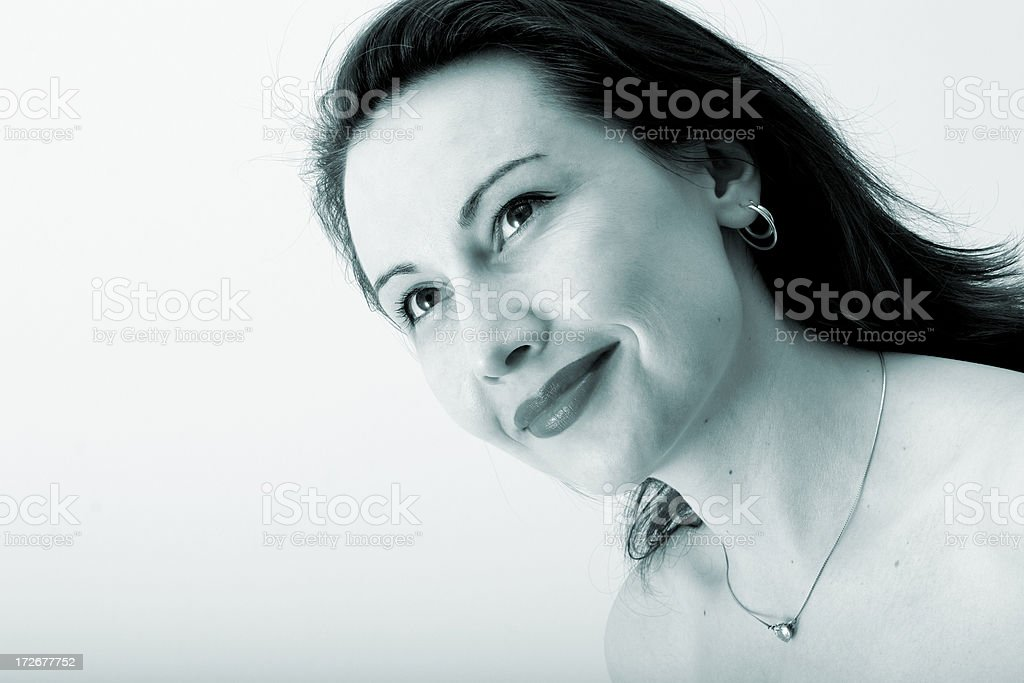 Looking to future royalty-free stock photo