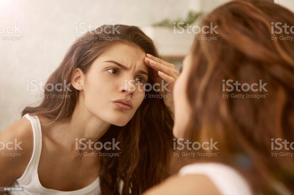 Blick in den Spiegel – Foto