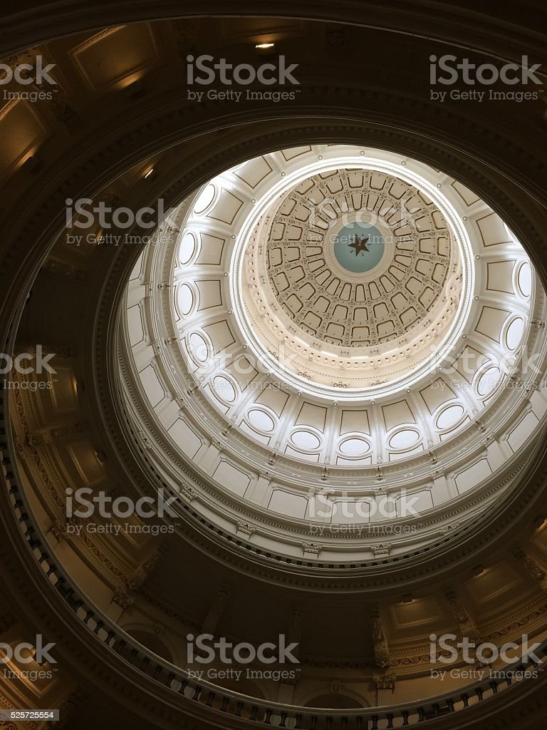 Looking Up At Dome stock photo