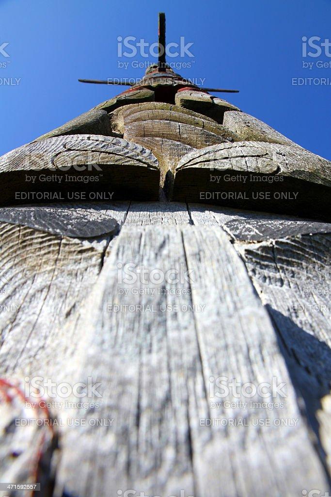 Looking Up History royalty-free stock photo