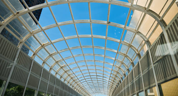 Das Glasdach nachschlagen – Foto