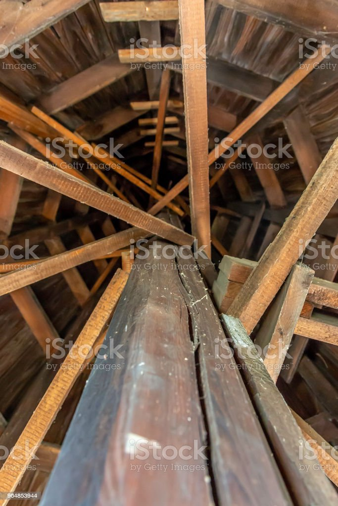 looking up to the top royalty-free stock photo