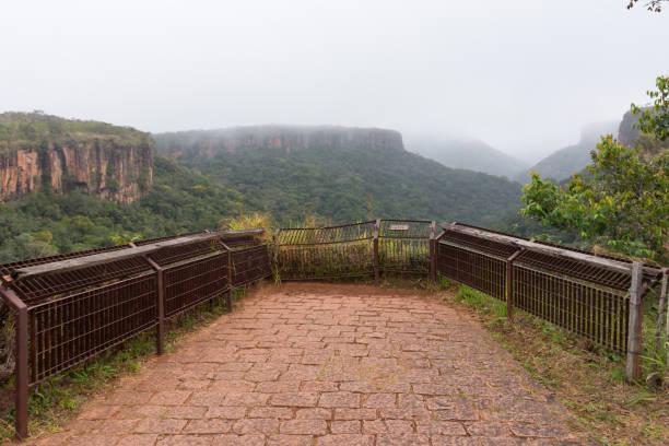 Mirante no Parque Nacional de Chapada dos Guimarães - foto de acervo
