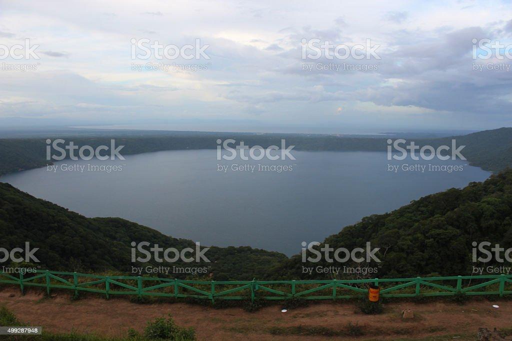 Lookout Lake stock photo