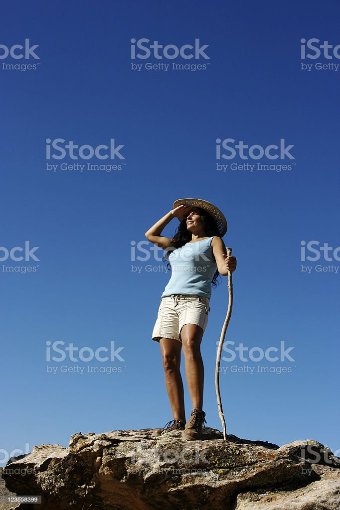 Lookout stock photo