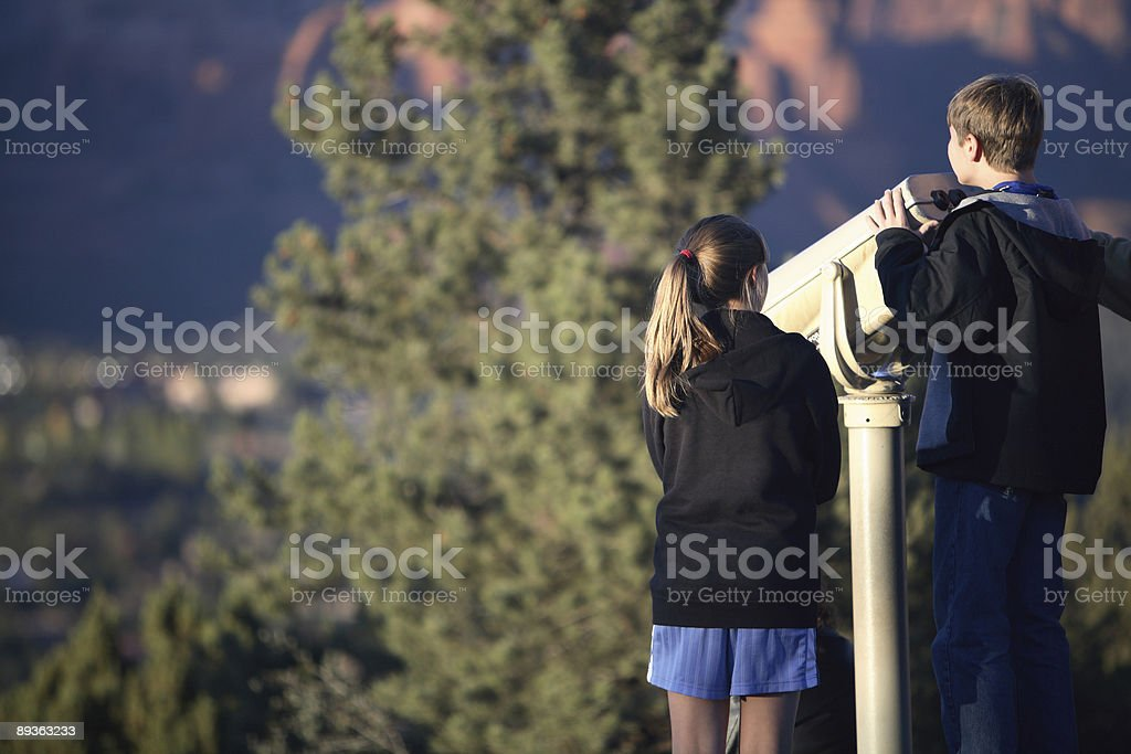 Lookout royalty-free stock photo