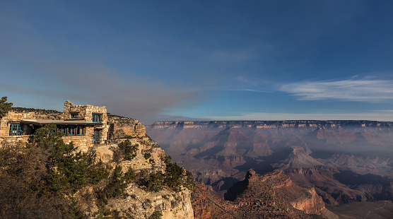 istock Lookout Studio on the south rim of the Grand Canyon 1155966382