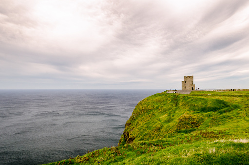 Lookout Tower at Ireland's Cliff of Moher