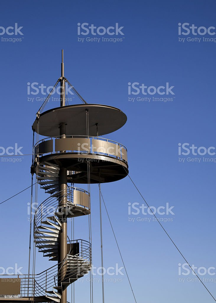 Lookout Tower royalty-free stock photo