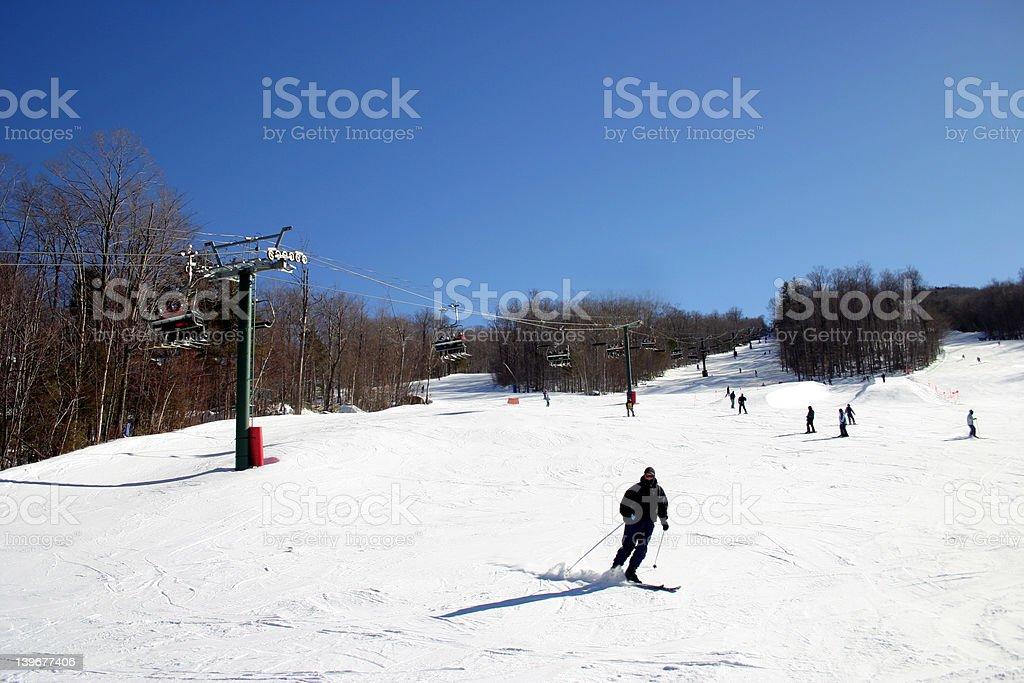 Loon Mountain Ski Resort royalty-free stock photo