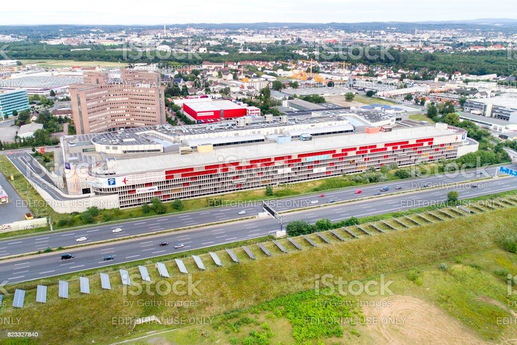 f27490526413 Loop 5 Shopping Center Darmstadtweiterstadt Germany Stock Photo ...