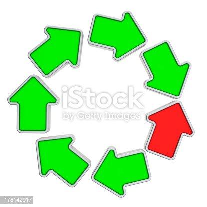istock Loop of arrows 178142917
