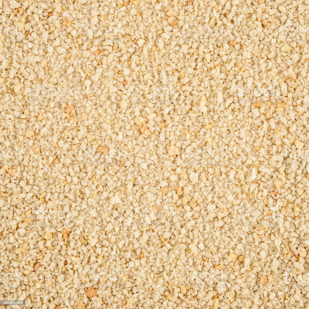 Loopable Breadcrumbs Pattern Texture Background stock photo