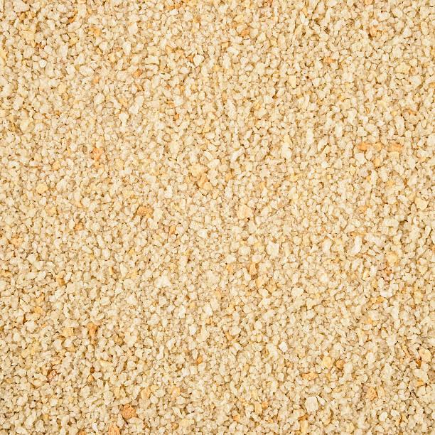 motivo di texture di sfondo loopable breadcrumbs - pangrattato preparazione degli alimenti foto e immagini stock