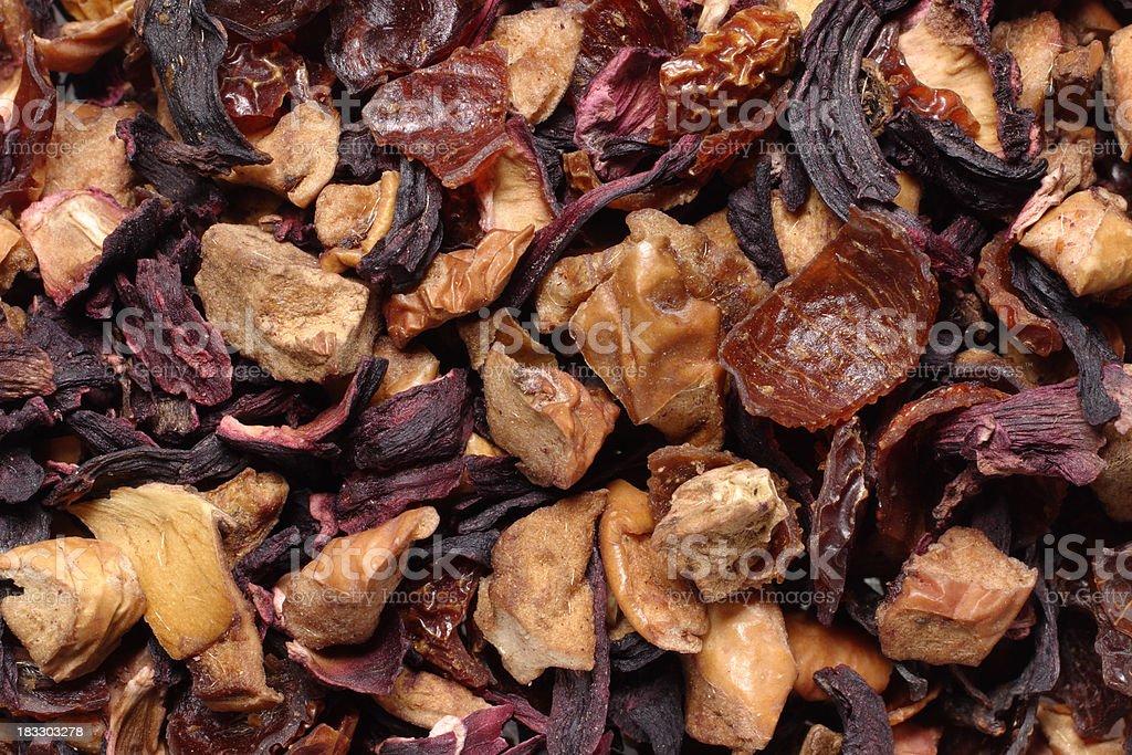 Loose fruit tea royalty-free stock photo