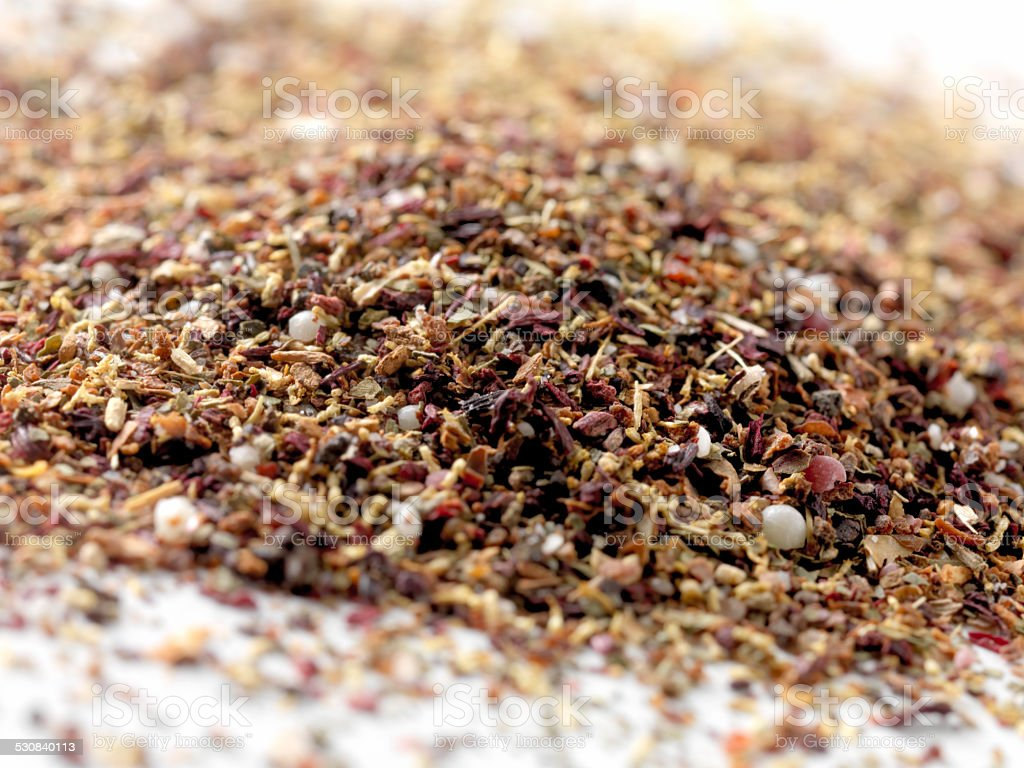 Loose Herbal Tea stock photo