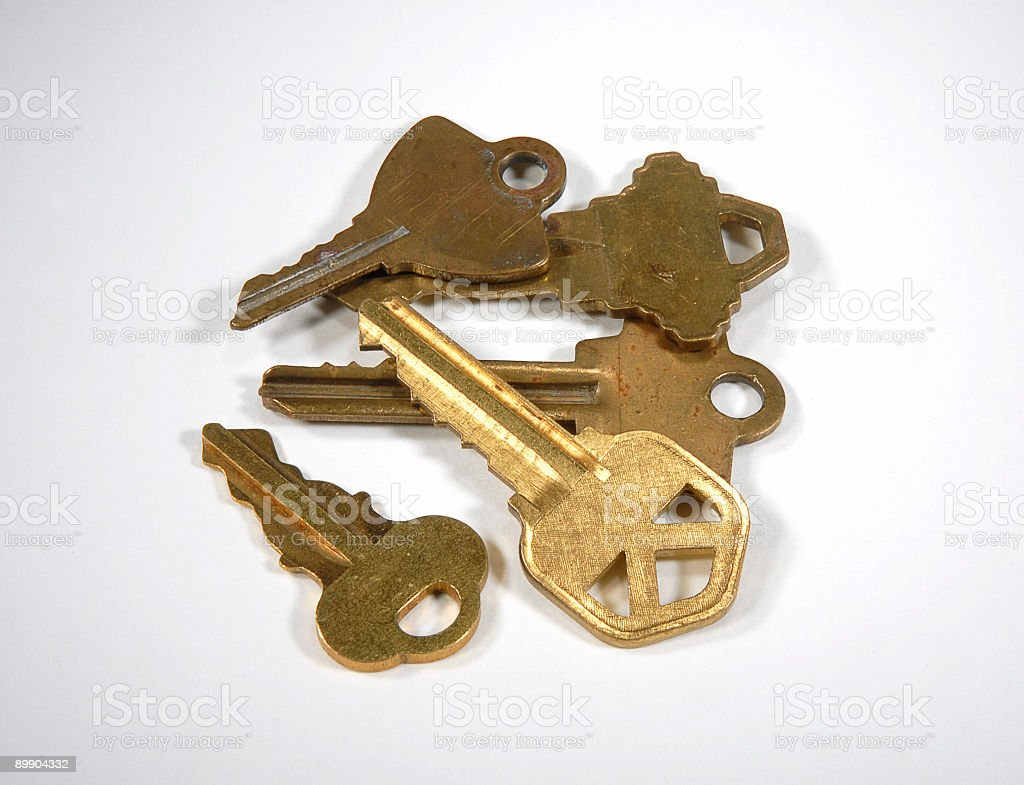Loose Keys royalty-free stock photo