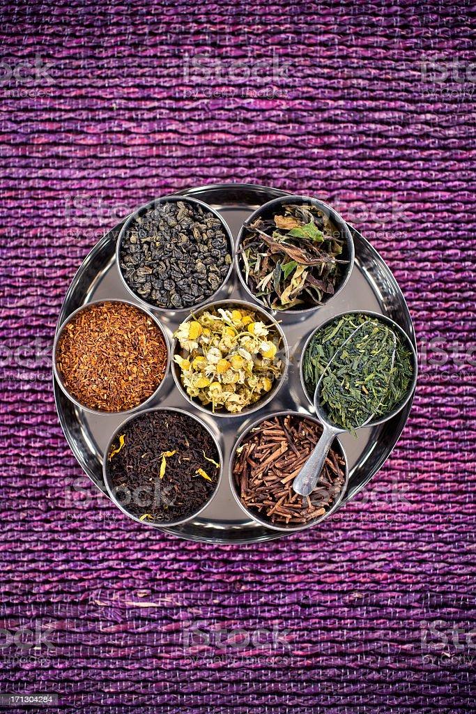 Loose Leaf Tea royalty-free stock photo