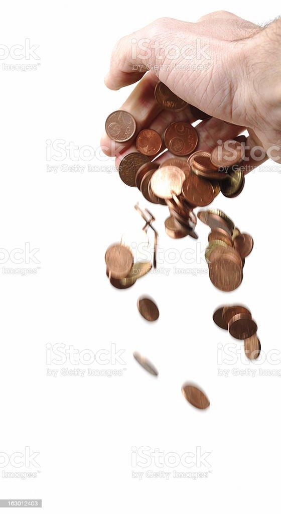 Loose Money stock photo