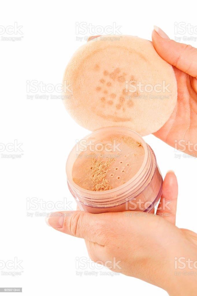 Loose Powder stock photo