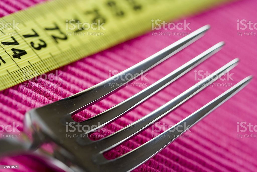 Loose weight royalty-free stock photo