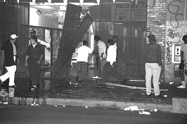 Looters Looting stock photo