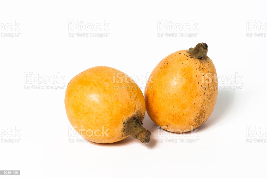 loquat royalty-free stock photo
