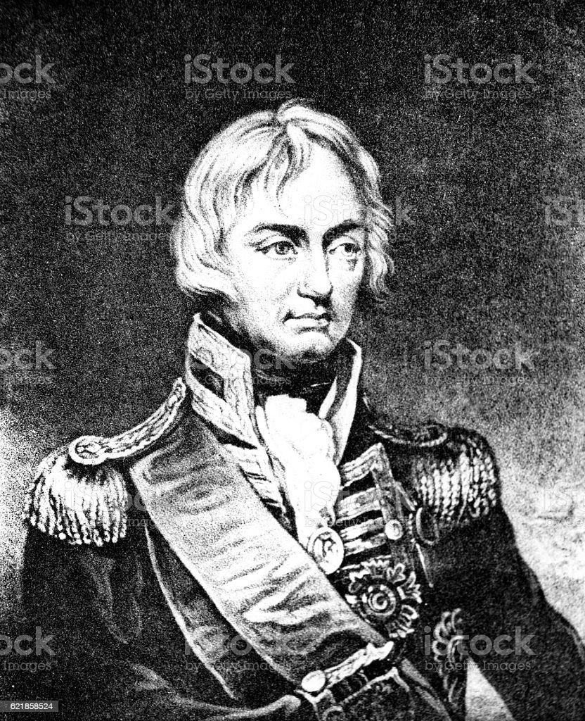 Lord Admiral Nelson stock photo