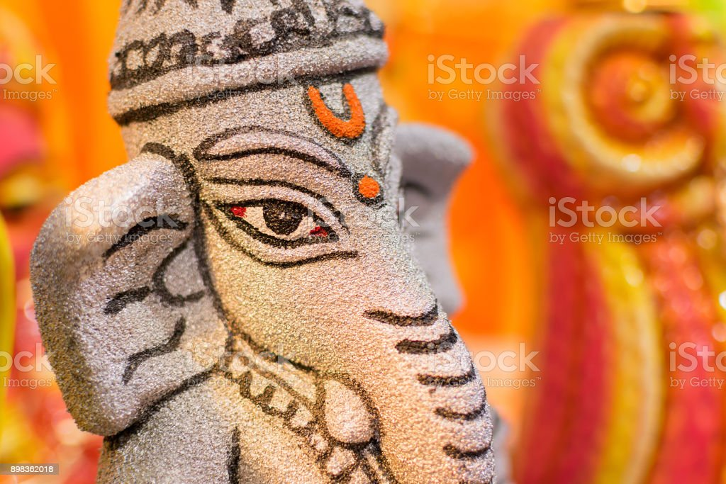 Lord Ganesha Dolls Art Work Indian Handicrafts Fair At Kolkata Stock