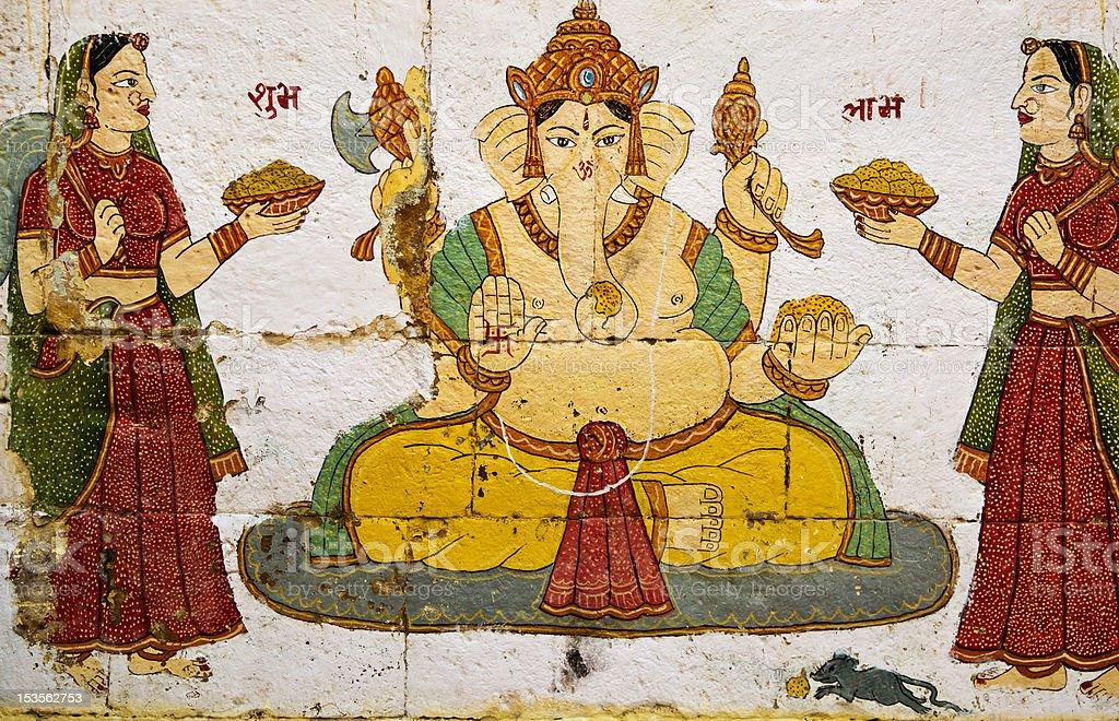 Lord Ganesha royalty-free stock photo