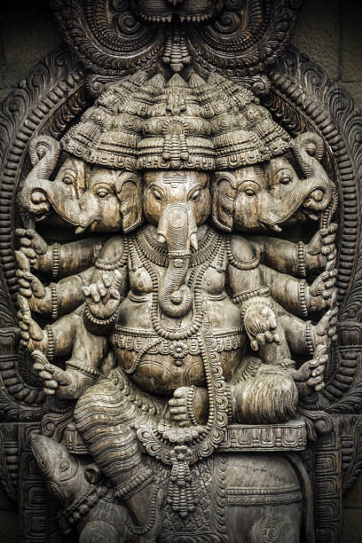 lord ganesha - hinduism stock photos and pictures