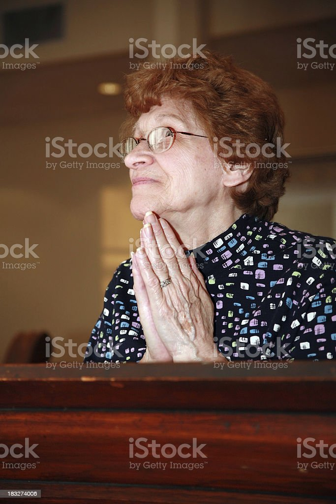 Lord, Hear My Prayer royalty-free stock photo