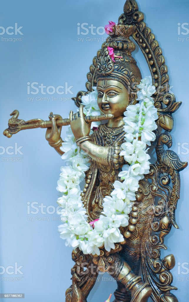 Lord Krishna Stock Photo - Download Image Now - iStock