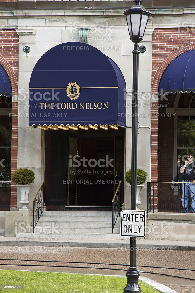 Lord Nelson Hotel stock photo