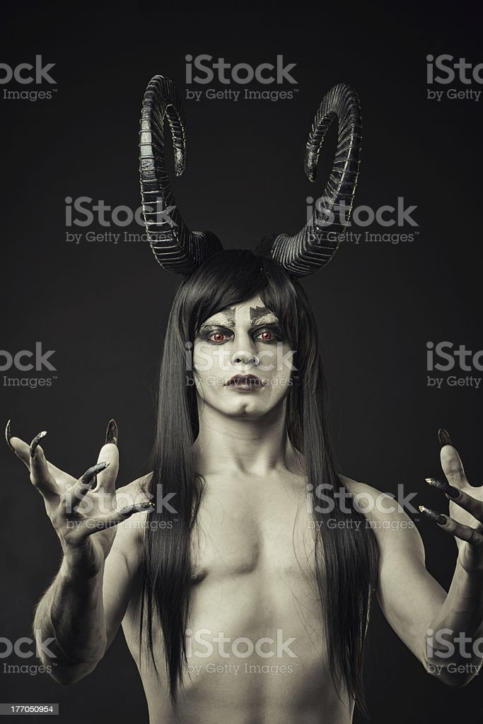 Lord of Darkness royalty-free stock photo