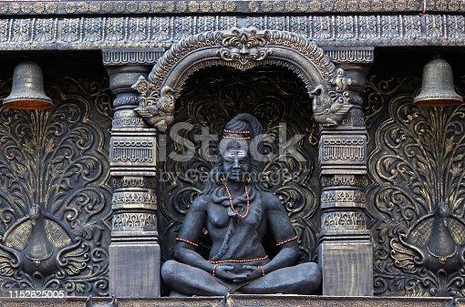 Lord Shiva statue, Sadashiv peth, Pune, Maharashtra.