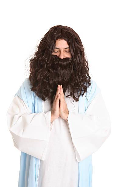 lord lehren uns zu beten - simson teile stock-fotos und bilder