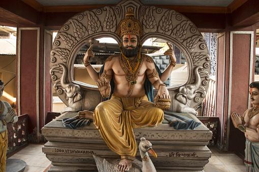 Lord Vishwakarma, Kaikadi Maharaj Math, Pandharpur