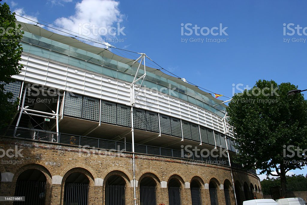 Lords Cricket ground London stock photo