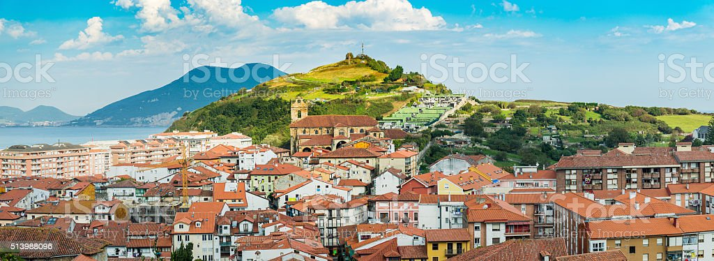Loredo, Spain stock photo