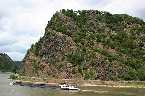 Loreleyfelsen (Cornwall), Rhein (Rhein)/Deutschland – Foto