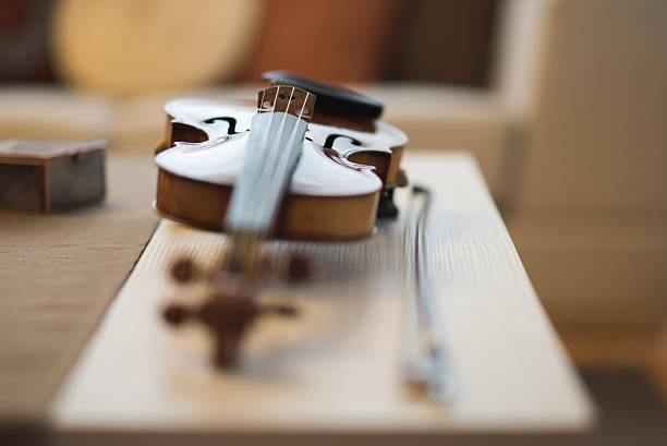 Lorenzo Storioni Violin stock photo