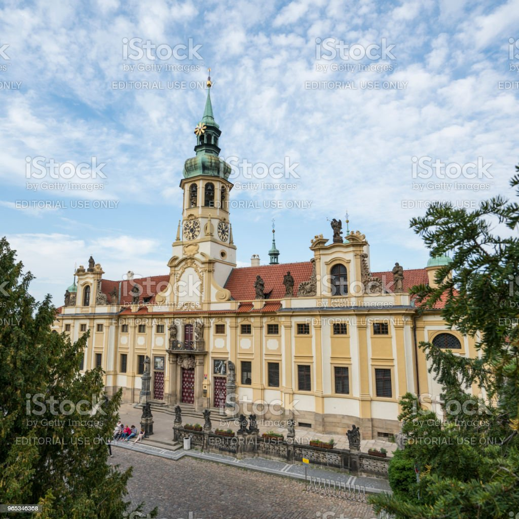 Loreta church in Prague royalty-free stock photo