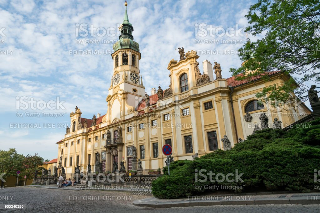 Loreta church in Prague royalty-free stock photo