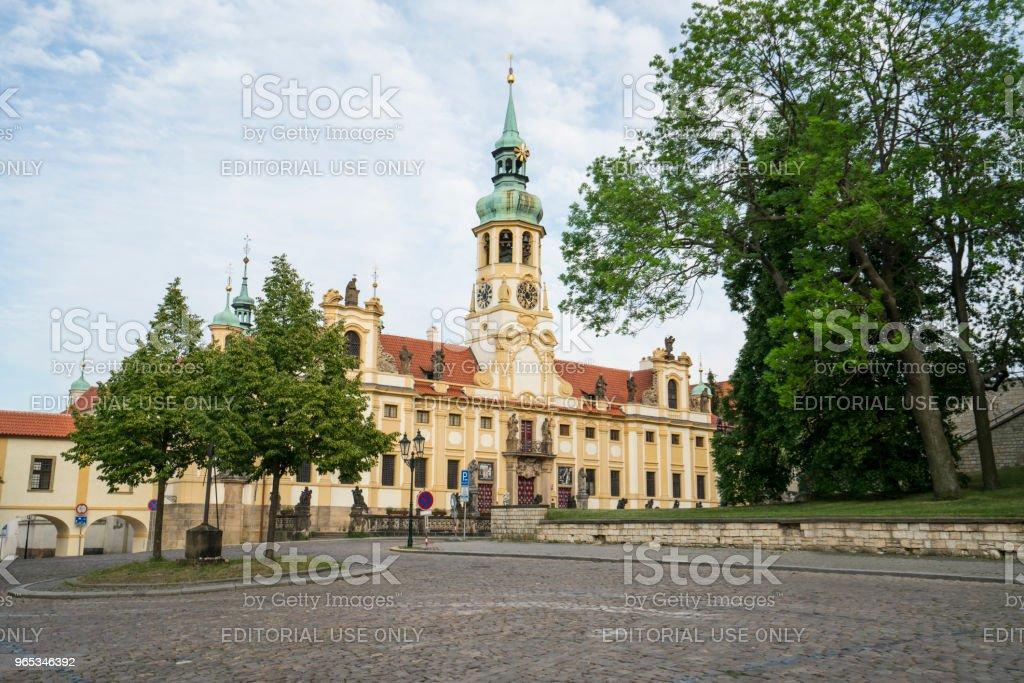Kościół Loreta w Pradze - Zbiór zdjęć royalty-free (Architektura)