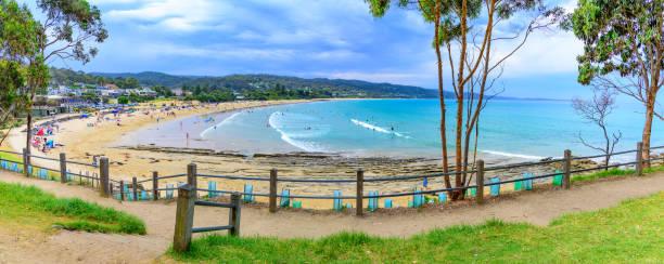 Lorne Beach stock photo