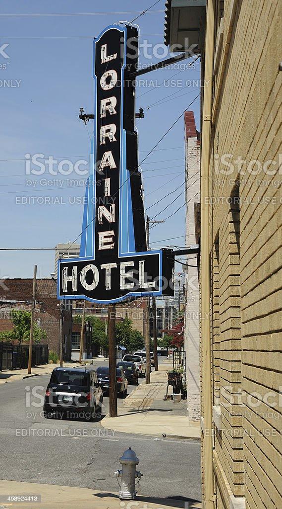Lorraine Motel, Memphis royalty-free stock photo