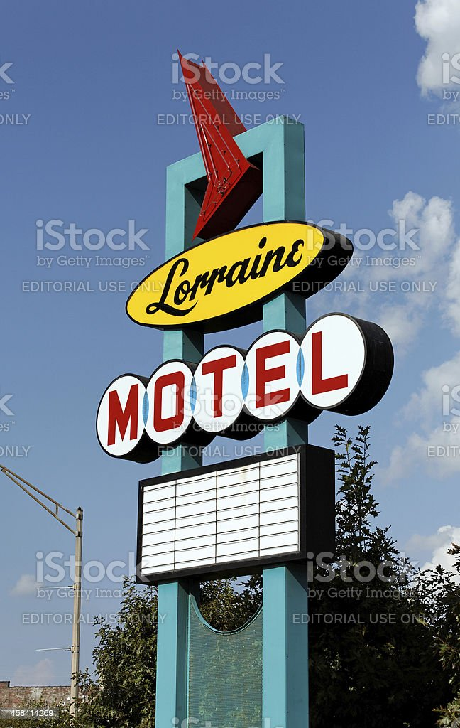 Lorraine Motel stock photo