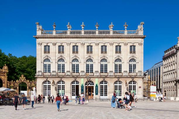 Lorraine National Opera in Nancy stock photo