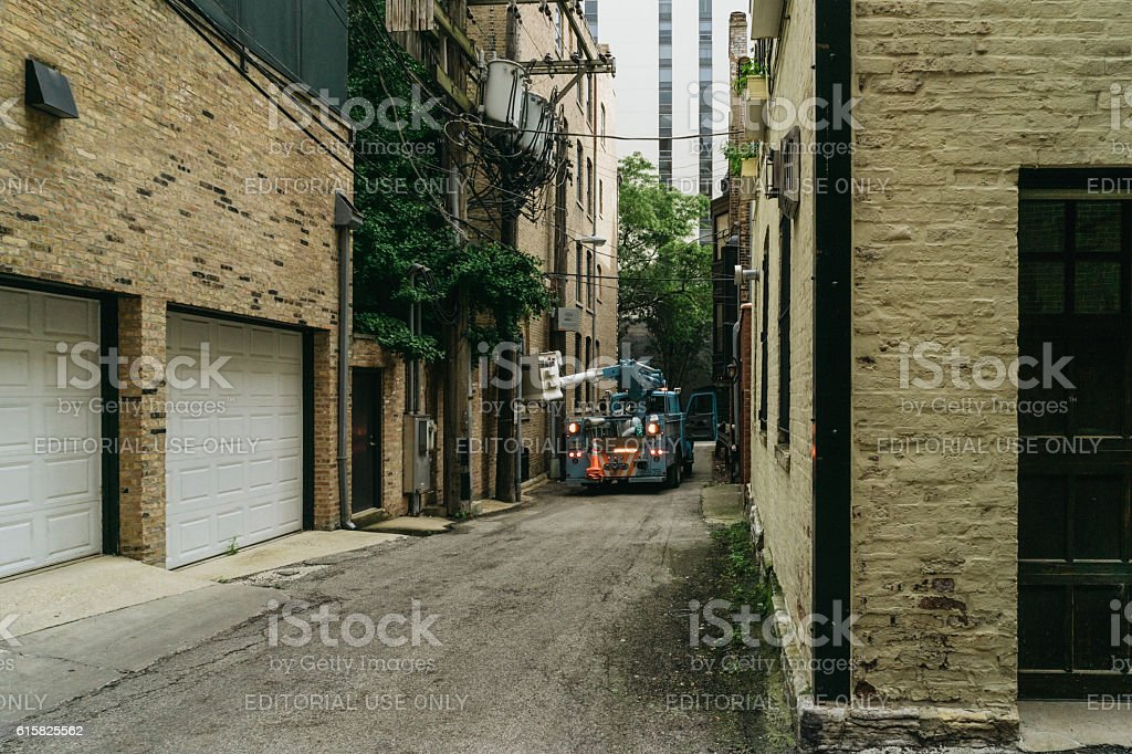 Lorri on a lane. stock photo